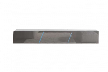 Zwevend Tv Meubel Hoogglans Grijs 240 cm