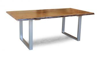 Boomstam tafel 180 cm