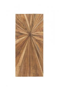 Wanddecoratie hout 45x100 cm