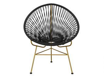 Retro lounge stoel