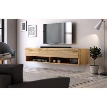 Hangend Tv Meubel Eiken 140 cm
