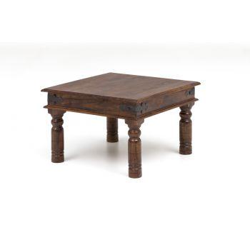 Salontafel vierkant hout