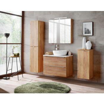 Badkamer Meubelset Waskom 80 cm Eiken - Brenda