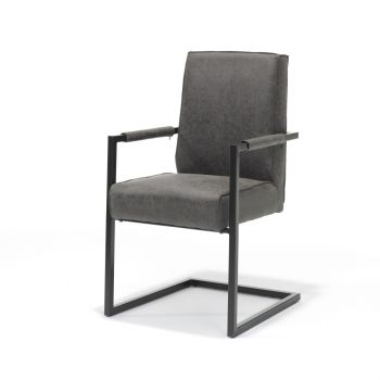 Eethoekstoel met Armleuning Safine - Kunstleer