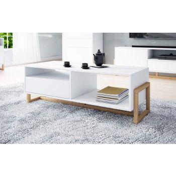Salontafel Scandinavisch 120x50x42 cm