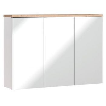 Spiegelkast Badkamer 69,4x100 cm Wit Eiken - Bloom