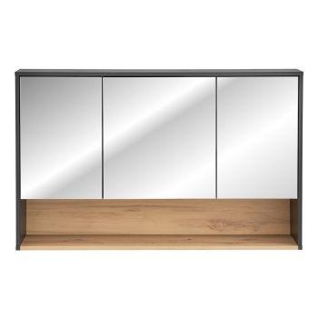 Spiegelkast Badkamer Grijs Eiken 120 cm - Bianca