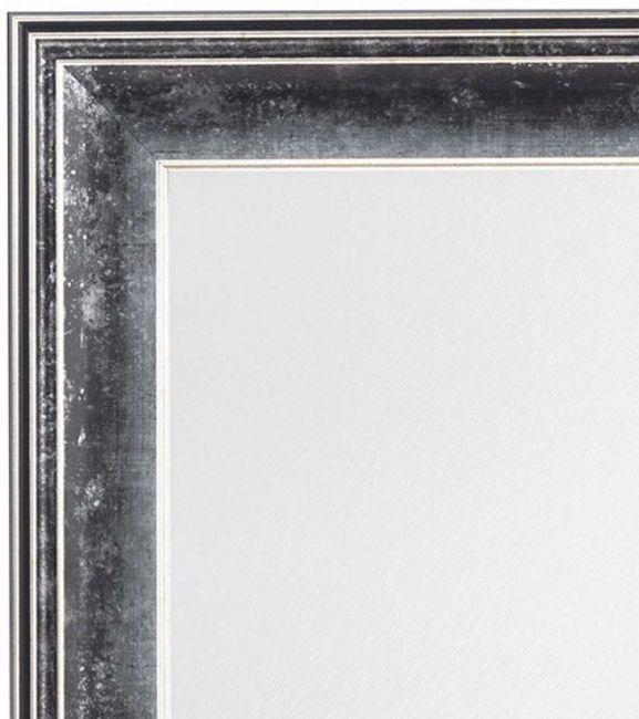 Antiek Zilveren Spiegel 59x79 cm - Kaya