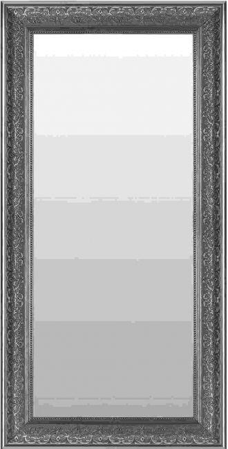Antraciet Spiegel 55x115 cm - Saskia