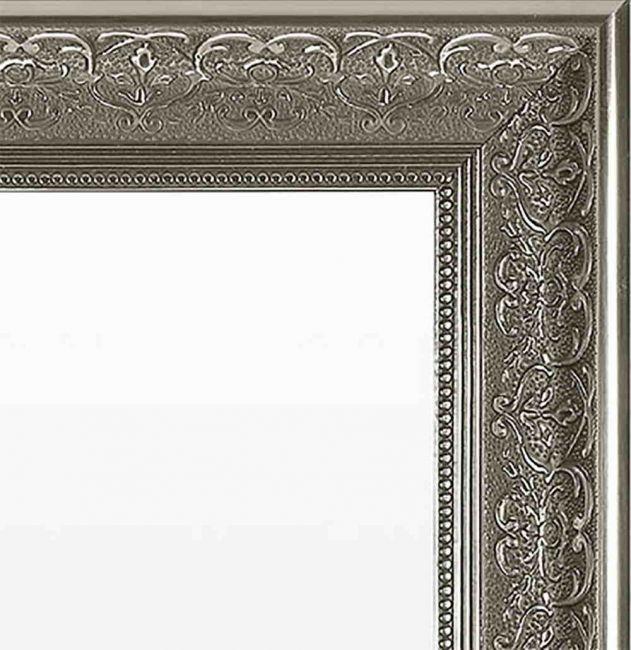 Antraciet Spiegel 67x107 cm - Saskia