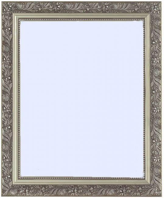 Barok Spiegel Zilver 49x69 cm - Daliah