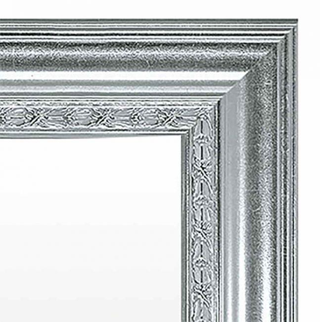 Brocante Spiegel 67x87 cm Zilver - Gina