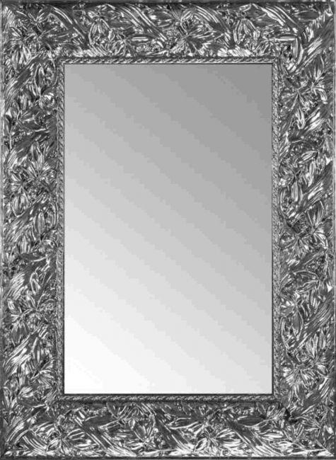 Brocante Spiegel Antraciet 56x76 cm - Louisa