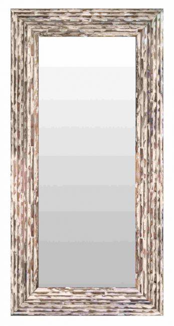 Brocante Spiegel Bruin 53x103 cm - Charly