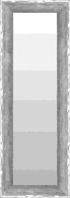 Chique Spiegel Hoogglans Zilver 51x101 cm - Alia