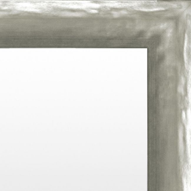 Chique Spiegel Mat Zilver 51x101 cm - Alia