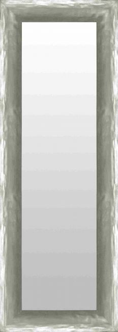 Chique Spiegel Mat Zilver 73x113 cm - Alia