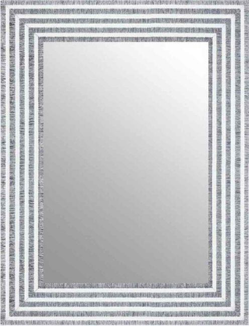 Chique Spiegel Wit Zilver 53x73 cm - Svea