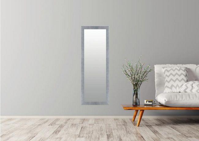Design Spiegel Grijs 42x92 cm - Nora