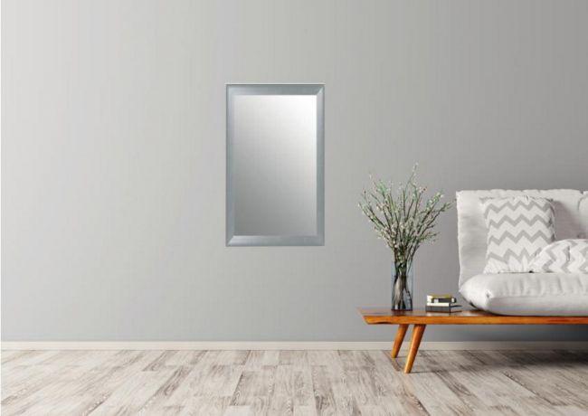 Design Spiegel Zilver 45x65 cm - Hildi