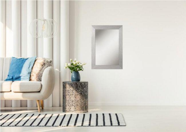Design Spiegel Zilver 46x66 cm - Carla