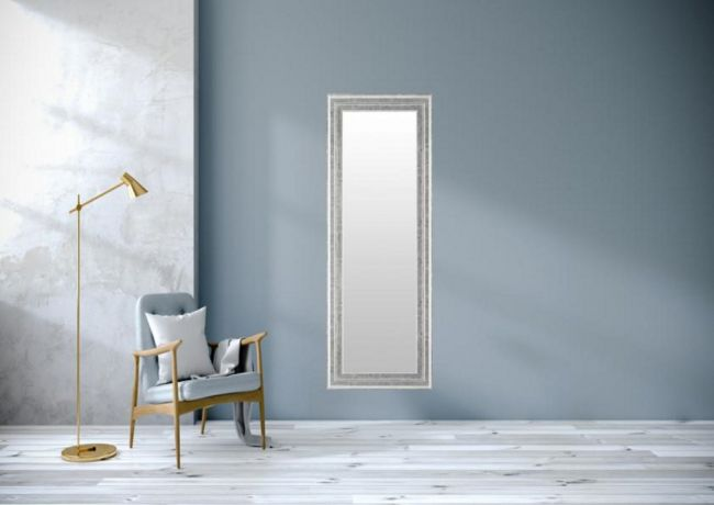 Moderne Spiegel Zilver 53x143 cm - Gretchen