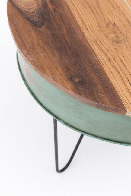 Ronde salontafel hout