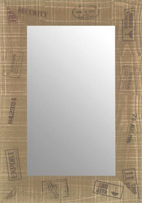 Spiegel Bruin 49x99 cm - Nala