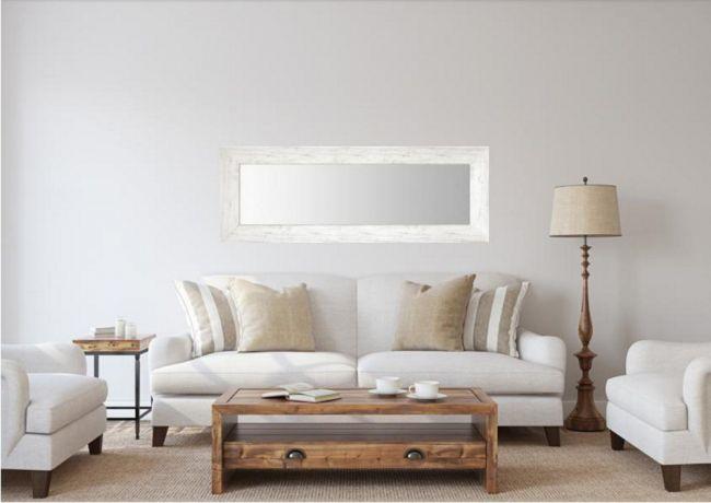 Spiegel Eiken Wit 68x108 cm - Ingrid
