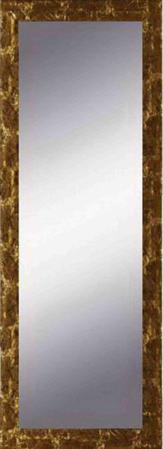 Spiegel Goud & Bruin 55x115 cm - Eva