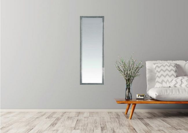 Spiegel Jaipur Zilver 40x90 cm - Karen