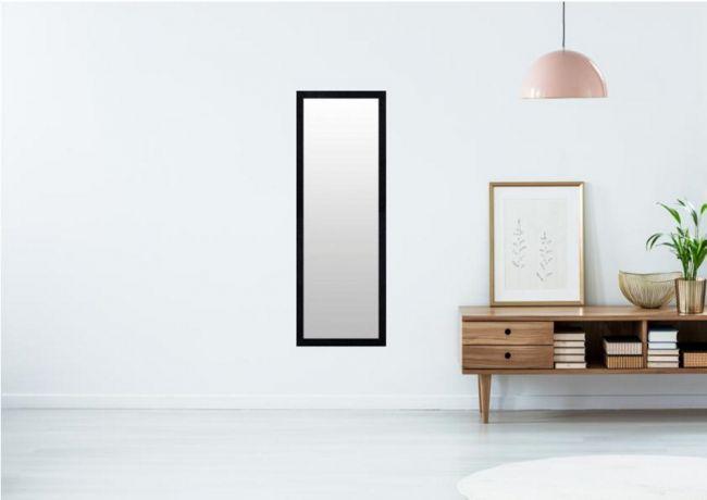 Spiegel Mat Zwart 60x120 cm - Nina