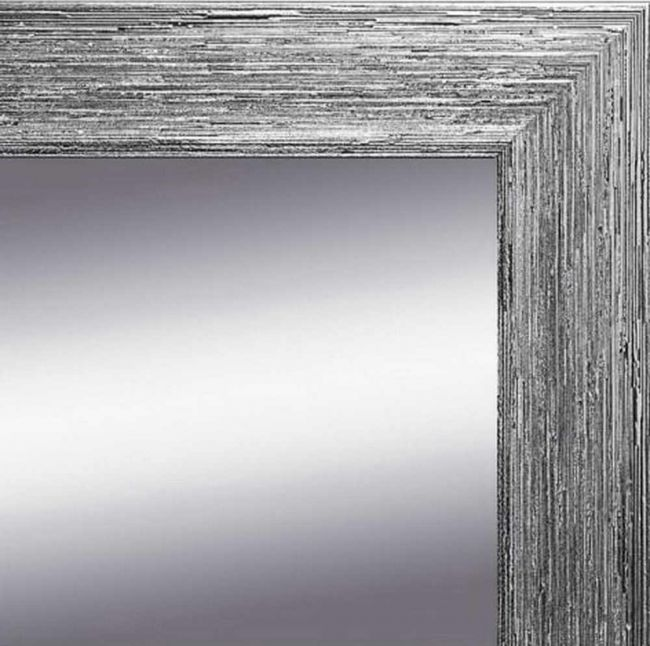 Spiegel Oud Zilver 63x163 cm - Stella