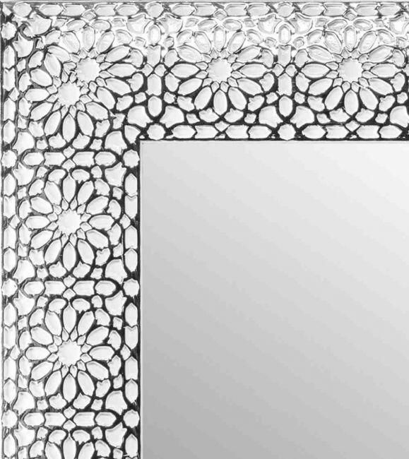 Spiegel Wit Zilver 64x154 cm - Flora