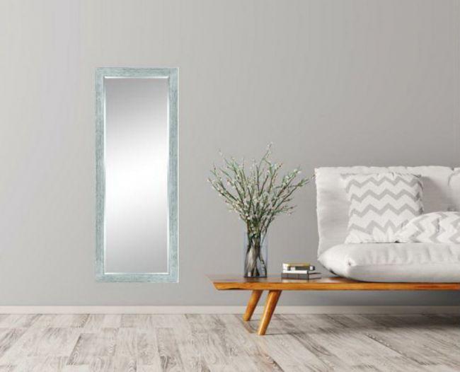 Spiegel Wit Zilver 68x108 cm - Stella