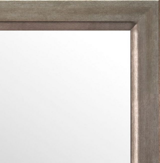Spiegel Zilver Bruin 46x66 cm - Karen