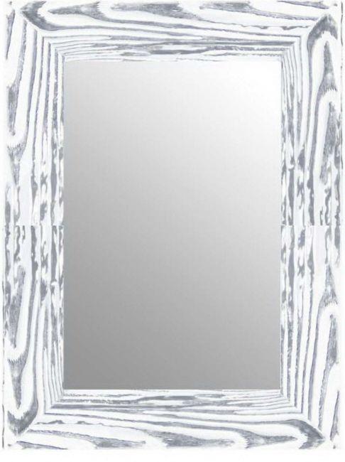 Spiegel Zilver Wit 57x77 cm - Svenja