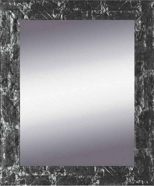 Spiegel Zwart & Zilver 63x83 cm - Eva
