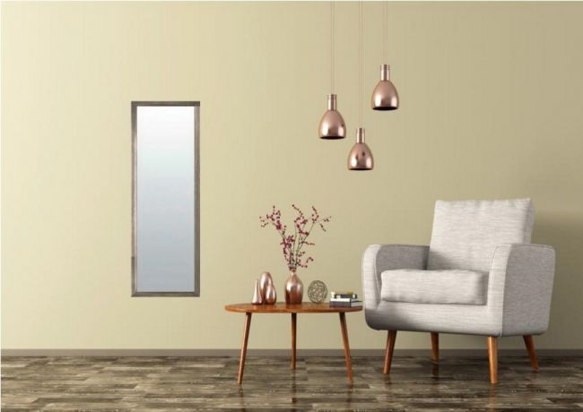 Vintage Spiegel Bruin 40x90 cm - Ria