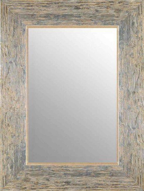 Vintage Spiegel Bruin Zilver 67x87 cm - Marlene