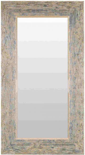 Vintage Spiegel Bruin Zilver 72x112 cm - Marlene