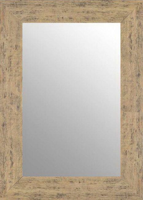 Vintage Spiegel Bruin Zwart 63x83 cm - Annika