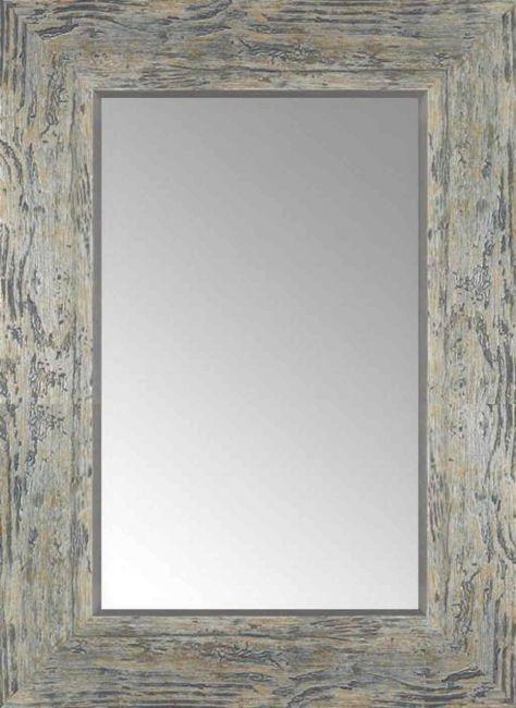 Vintage Spiegel Grijs Zilver 56x76 cm - Marlene