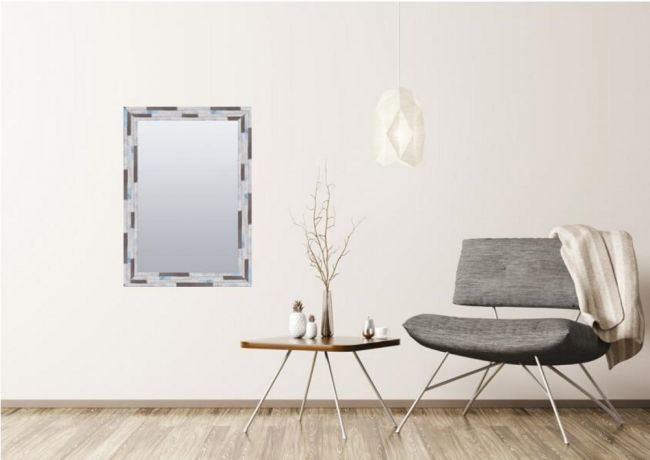 Vintage Spiegel Hout 64x84 cm - Carmen