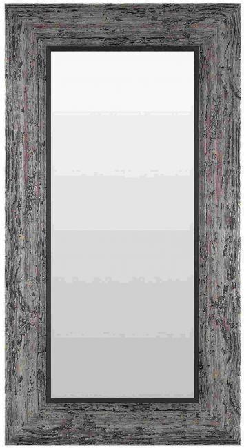 Vintage Spiegel Zwart Zilver 59x149 cm - Marlene