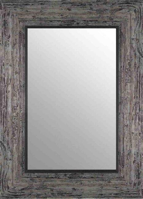 Vintage Spiegel Zwart Zilver 67x87 cm - Marlene