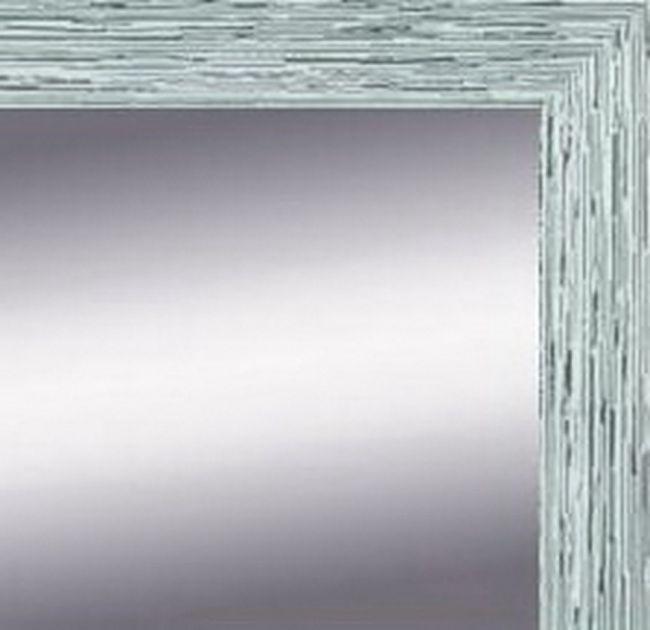 Zilver Witte spiegel 49x139 cm - Ylvi