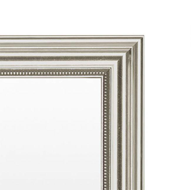 Zilveren Spiegel Chique 52x72 cm - Pria