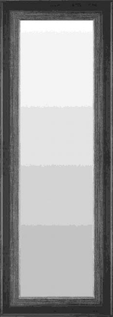 Zwart Zilveren Spiegel 48x98 cm - Jule