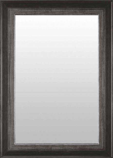 Zwart Zilveren Spiegel 54x74 cm - Jule